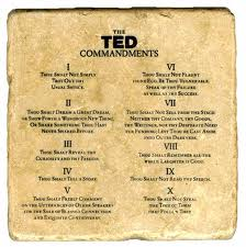 blog ted talk ten commandments